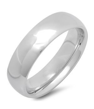 Stainless Wedding Band Ring wholesale jewelry