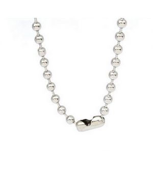 STAINLESS STEEL NECKLACE 30 ichh bead chain