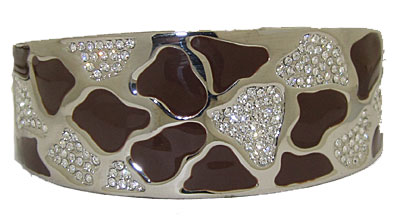 MX magnetic bangle bracelet, hinged