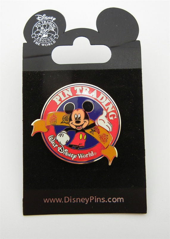 Authentic Disney Mickey Trading Pin