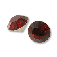 50 Wholesale 10mm Ruby Crystal w Mirror Back