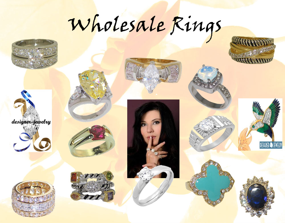 Wholesale fashion jewelry rings wholesale for Wholesale costume jewelry for resale